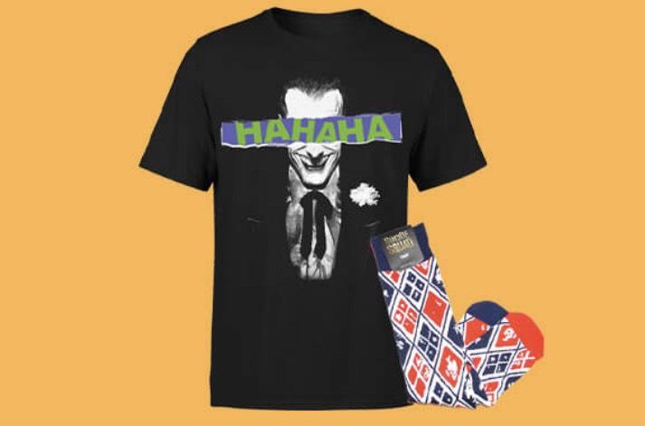 DC Comics Tee & Socks - £7.99 @ Zavvi
