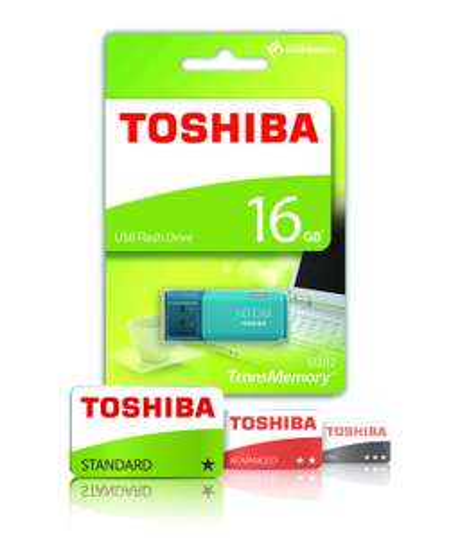 Toshiba TransMemory U202 16GB USB Flash Drive USB 2.0 - £2.99 @ Amazon Prime (+£4.49 non-Prime)