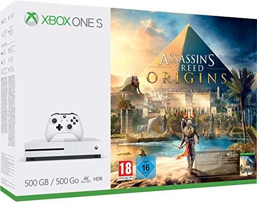 Xbox One S 500GB Assassin's Creed Origins OR Forza Horizon 3 + Hot Wheels DLC Bundles £149.99 Grade A Refurbished @ eBay Argos