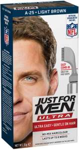 Just For Men Autostop/Ultra Hair Color Light Brown A25 Deal of the Day - £6.34 @ Amazon Prime (+£4.49 non-Prime)