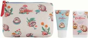 Cath Kidston Cosmetic Pouch with Hand Cream & Hand Sanitisers - £12.21 @ Amazon Prime (+£4.49 non-Prime)