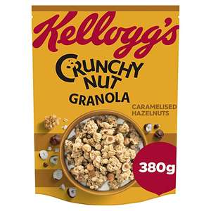 Crunchy Nut Caramelised Nuts Granola 380 g, Pack of 6 - £9 @ Amazon Prime (+£4.49 non-Prime)