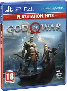 God Of War Playstation Hits (PS4) for £12.30 with Code Delivered @ The Game Collection