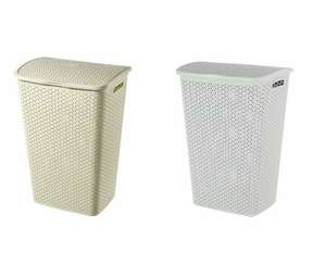 Curver 55L Laundry Hamper (Choice of White or Grey) £9.34 with code @ Robert Dyas - (Free Click and Collect)