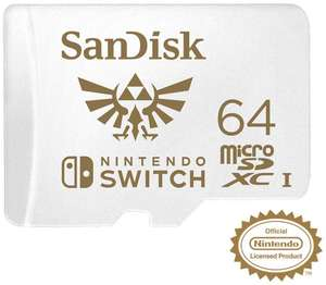 Nintendo Licensed Zelda micro SD XC UHS-I Card for Nintendo Switch, 64 GB