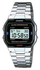 Casio Men's LCD Chronograph Silver Stainless Steel Watch £14.99 With Free Collection @ Argos