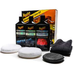 Meguiars Ultimate Paint Kit - £35 @ Halfords (Free Click & Collect)