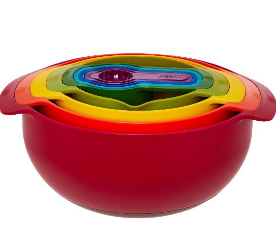 Joseph Joseph 9 nesting bowl - £24.99 @ TK Maxx (+£1.99 Click & Collect)