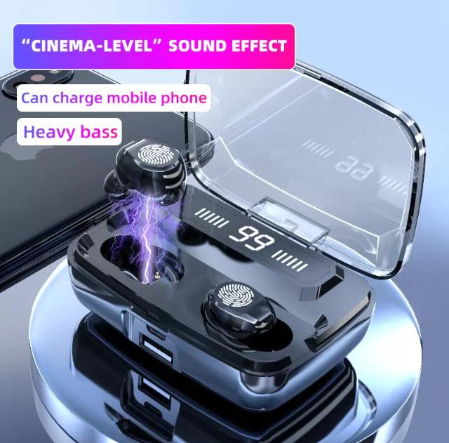 Bluetooth EarPods & Power-bank combo - £9.21 @ AliExpress Deals / DAMIX Store