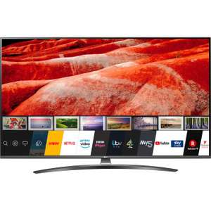 """LG 65UM7660PLA (2019) LED HDR 4K Ultra HD Smart TV, 65"""" with Freeview Play/Freesat HD, Ultra HD Certified, Dark Silver £699 @ AO"""