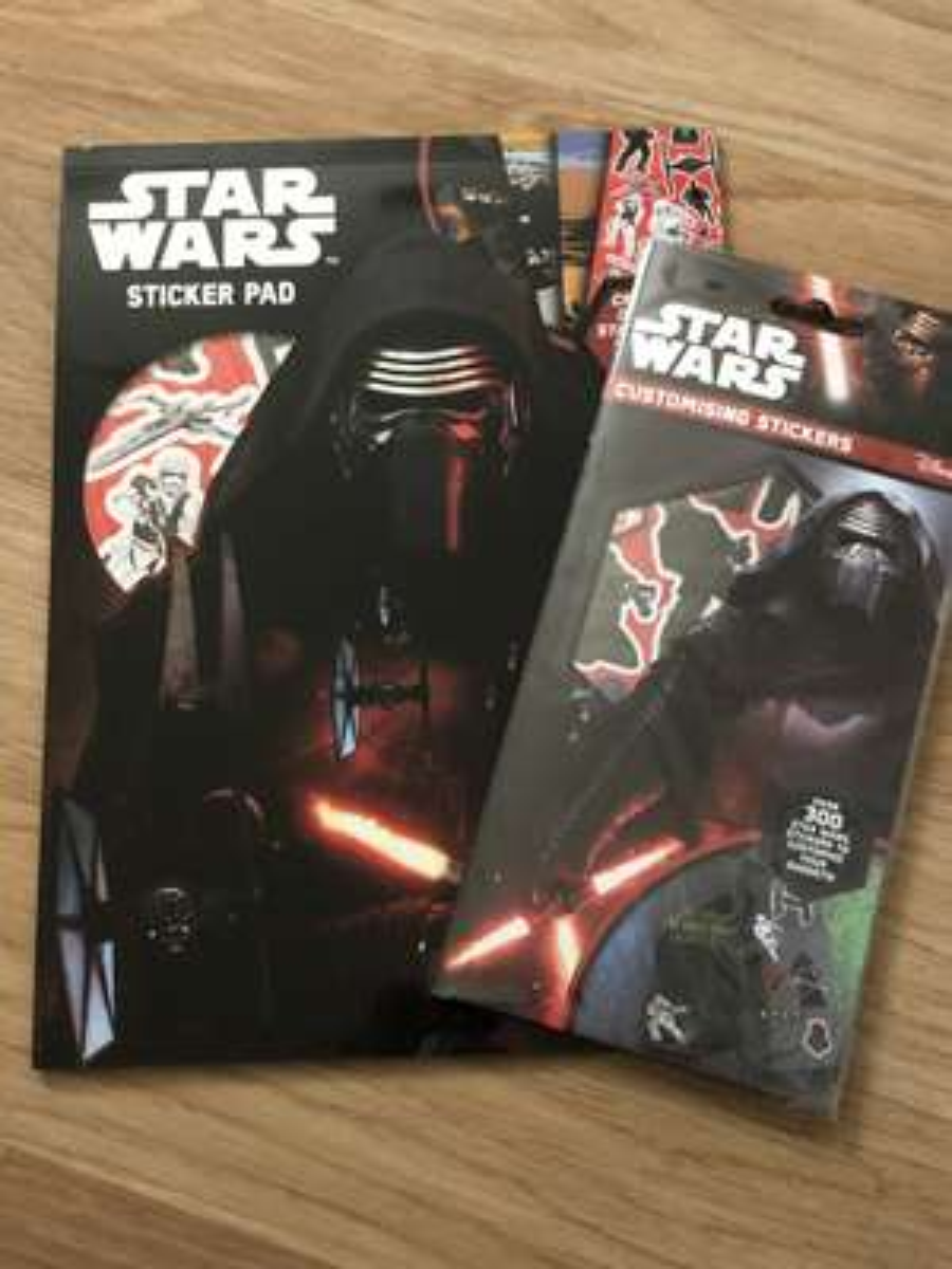 Star Wars 300 pack stickers/ sticker pad 25p each @ Poundstretcher Kent