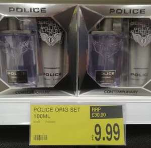 Police Mens edt and shower / shampoo set £9.99 at B&M Retail Lincoln
