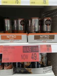 Nitro Infused Latte and Americano coffee 49p instore @ B&M Lincoln