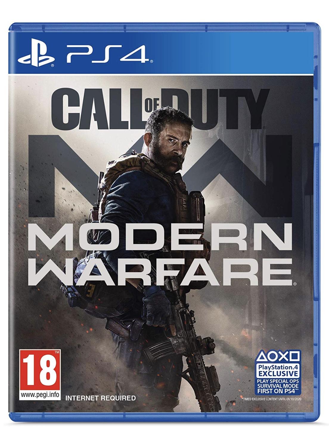 Call of Duty: Modern Warfare Standard Editon PS4 & XBox One £34.99 @ Amazon