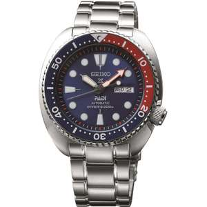 Seiko Prospex Diver Padi (Turtle) Special Edition Automatic Watch SRPA21K1 - £270.20 with code at Watch Shop
