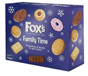 Fox's Family Time Biscuits 660g now £1.50 B&M Bargains Rothwell Leeds