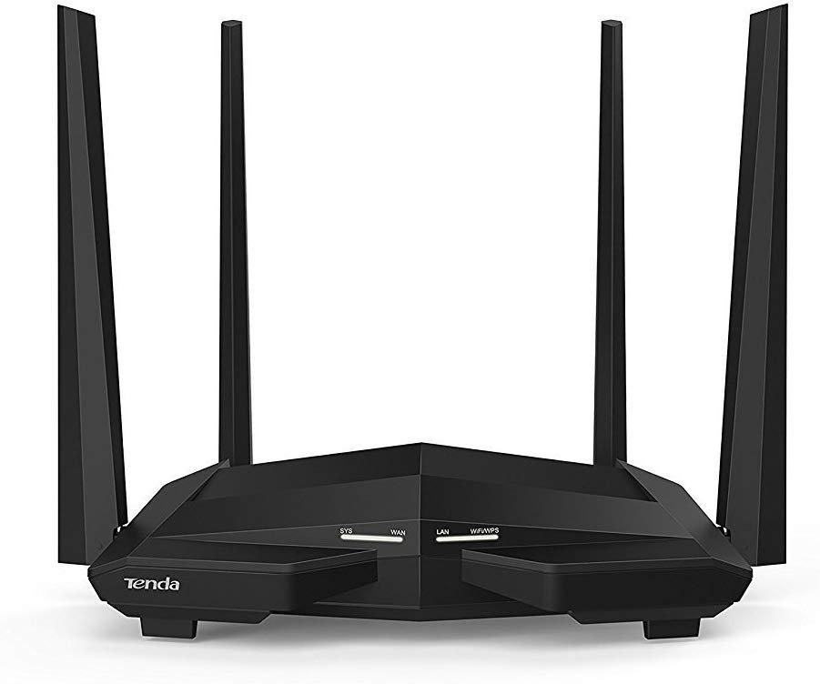 Tenda AC10U 1200Mbps Router Dual-band, 4 Gigabit Ports, a USB 2.0 Port, 802.11ac £34.00 at Amazon