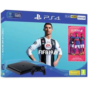 Sony PS4 Slim FIFA 19 Bundle 500GB Console £157.99 / 1TB £186.99 Grade A Refurbished @ eBay Argos