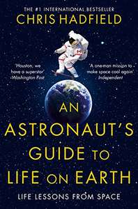 An Astronaut's Guide to Life on Earth 99p at Kindle Amazon
