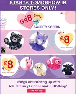 Selected Bears including Unicorn / Batman only £8 in store Build a Bear Workshops