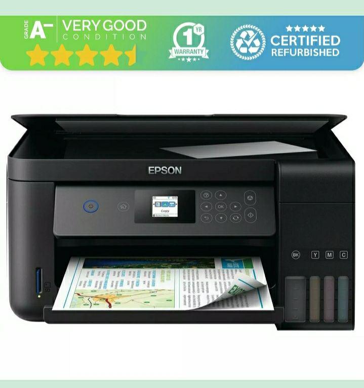 Epson ecotank et-2750 all in one printer £101.42 Grade A refurbished homeandgardenltd eBay