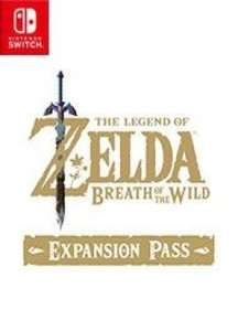 Zelda: Breath of the Wild Expansion Pass £14.56 @ Instant Gaming