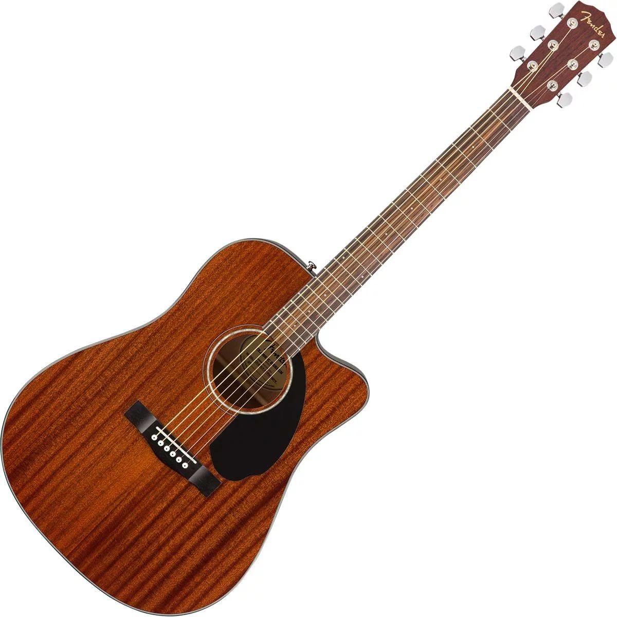 Fender cd-60sce all-mahogany electro acoustic guitar £179.10 @ Dawsons Music