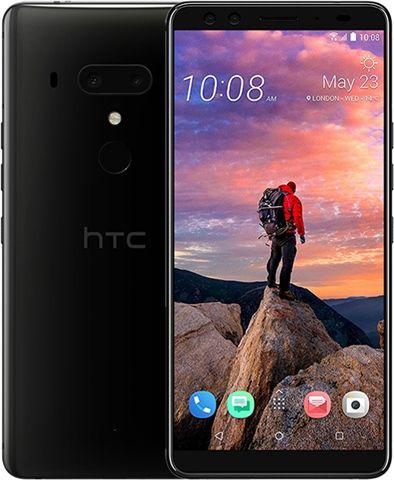 HTC U12 Plus 64GB Ceramic Black, Unlocked In B Condition £235 @ CEX