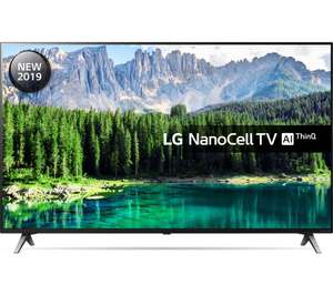 LG 65SM8500PLA 65 Inch UHD 4K HDR Smart NanoCell LED TV with Freeview Play - Black (2019 Model) £777 @ Amazon