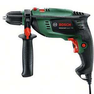 Bosch 701W Corded Impact drill Universal Impact £30 with code + 3 Year Warranty @ B&Q (free click and collect)