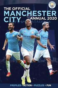 The Official Manchester City FC Annual 2020 Hardcover £1.50 (Prime) + £2.99 (non Prime) at Amazon