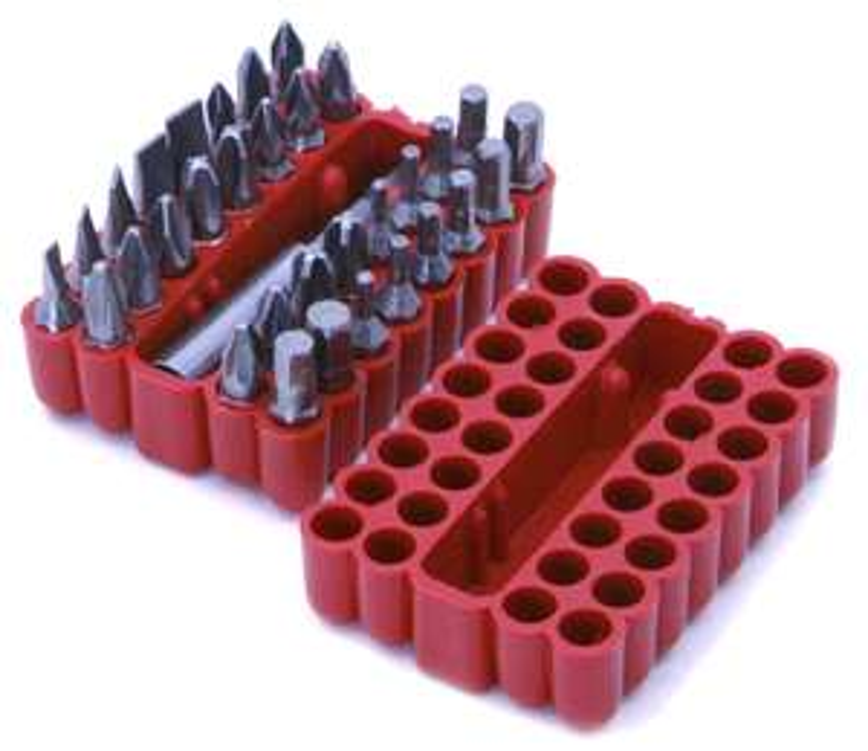 Rolson Screwdriver Bit Set 33 Piece £3.75 at Amazon (+£4.49 Non prime)