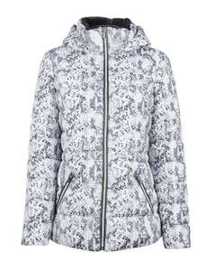 Grey Snake Print Short Padded Coat £15.00, Free Next Day Delivery (With Code) @ Dorothy Perkins
