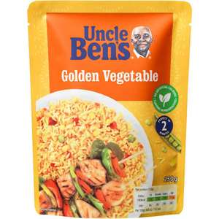 Uncle Bens 6 pack of Golden Vegetable rice £3.50 at Tesco Instore Swindon