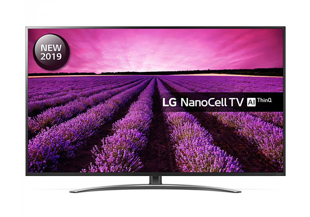 "LG 55SM8600PLA (2019) LED HDR NanoCell 4K Ultra HD Smart TV, 55"" Freeview Play/Freesat HD +5 year Guarantee £560 Crampton & Moor"