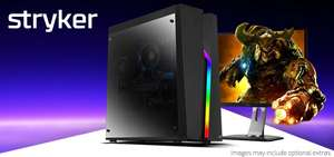 CCL Stryker Gaming PC - 2600x - RX590 Fatboy - 240GB SSD - 16GB - NO O/S £560.99 from CCL Online.