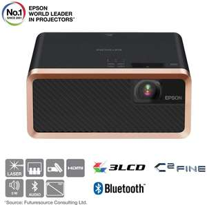 Epson EF-100B 3LCD, Laser, Streaming Device, Bluetooth, Built In 5 W Speaker, Portable Projector - Black £699.99 Amazon