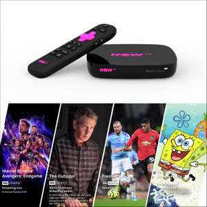 NOW TV Smart Box With 4K And Voice Search + 4 Now TV Passes £24.99 @ Argos