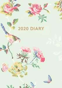 Cath Kidston Birds & Roses A6 2020 Diary - £3 delivered @ A Great Read