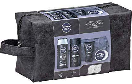Nivea men well groomed gift set for him includes washbag,shower gel,face wash,shampoo & moisturizer £6.40 @ Amazon prime (£10.89non prime)