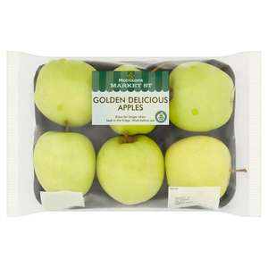 Golden Delicious Apples 6 pack £0.60 @ Morrisons