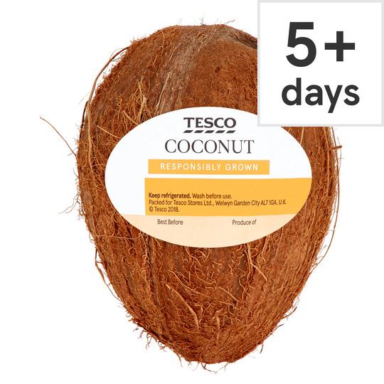 Coconut £0.34 / Braeburn Apple 6 pack £0.65 / Red Onions 3 Pack £0.35 / British Mashing Potatoes 1.25Kg £0.65 / Radish 240G £0.35 @ Tesco