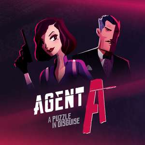 Agent A: A puzzle in disguise £2.59 @ Nintendo e-Shop