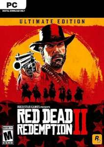 Red Dead Redemption 2 - Ultimate Edition (PC) - £33.99 @ CDKeys