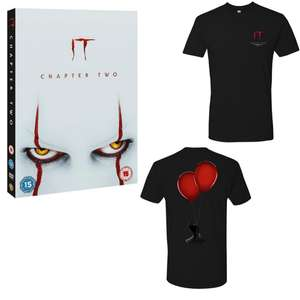 IT Chapter Two + Free T-Shirt £8.99 Delivered Using New Customer Code / Otherwise £9.99 @ Warner Bros