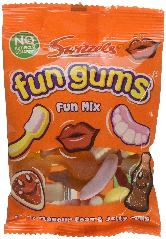Swizzels Matlow Mega Fun Gum Bag Fun Mix pack of 24 - £3.87 (Prime) / ££8.36 (non Prime) at Amazon