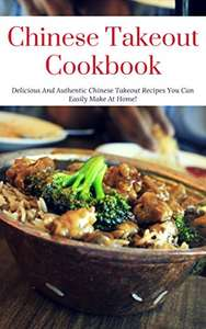 free Kindle book: Chinese Takeout Cookbook @ Amazon