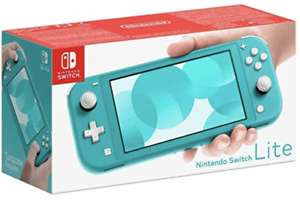 Nintendo Switch Lite Console - Turquoise/Grey/Yellow (Switch) BRAND NEW AND SEALED for £167.66 With Code @ Ebay/ Thegamecollectionoutlet