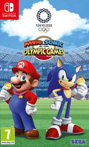 Mario & Sonic at the Olympic Games Tokyo 2020 (Switch) now £33.50 with code at The Game Collection eBay