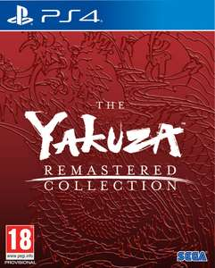 Yakuza Remastered Collection (PS4) PRE-ORDER now £35.22 delivered with code at The Game Collection eBay